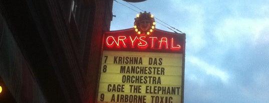 Crystal Ballroom is one of McMenamin's.