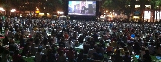 HBO Bryant Park Summer Film Festival presented by Bank of America is one of Park Highlights of NYC.