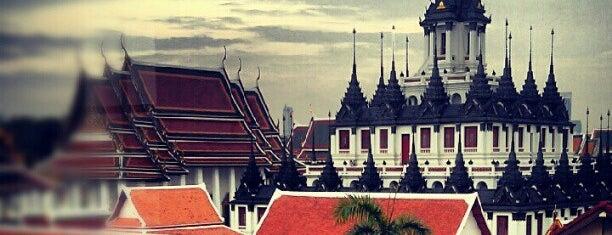 Wat Ratchanatdaram is one of Around Bangkok | ตะลอนทัวร์รอบกรุงฯ.