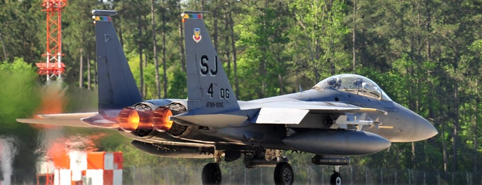 Seymour Johnson AFB is one of AFBs.