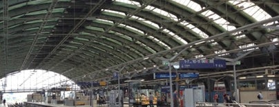Berlin Ostbahnhof is one of DB ICE-Bahnhöfe.