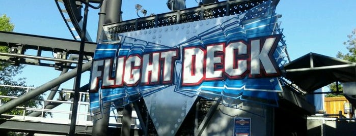 Flight Deck is one of ROLLER COASTERS.