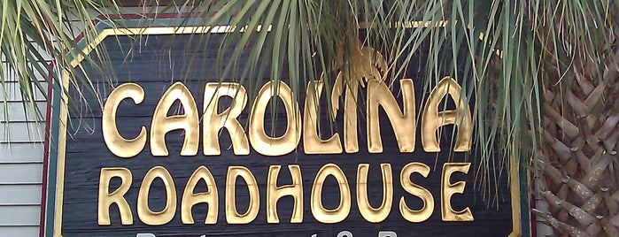 Carolina Roadhouse is one of The 15 Best Places for a Steak in Myrtle Beach.