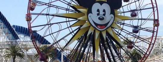 Mickey's Fun Wheel is one of The 15 Best Places for Sunsets in Anaheim.