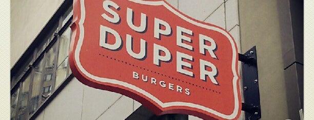 Super Duper Burgers is one of SF comida.