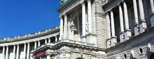 Österreichische Nationalbibliothek is one of Vienna, Austria - The heart of Europe - #4sqCities.