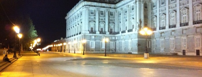 Royal Palace of Madrid is one of Dieter's favourite spots in Madrid.