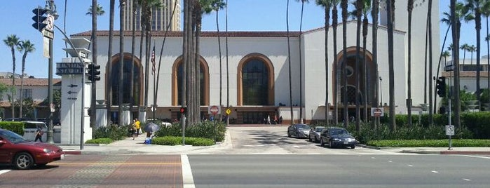 Union Station is one of The Historical Landmarks of LA Noire.