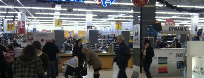 Carrefour is one of Bulgaria.
