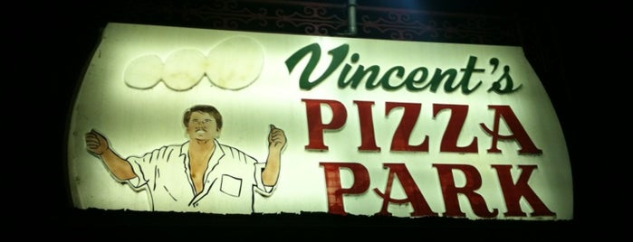 Vincent's Pizza Park is one of Best Restaurants in the Burg.
