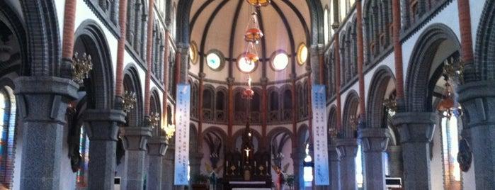 Jeondong Catholic Church is one of 내가 다녀온 전주 한옥마을.
