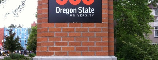 Oregon State University is one of B. Locations.
