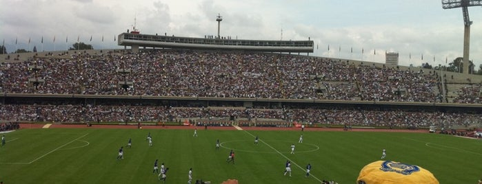 Estadio Olímpico Universitario is one of ¡Cui Cui ha estado aquí!.