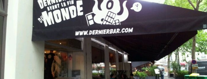 Le Dernier Bar avant la Fin du Monde is one of Cool Bars @Paris.