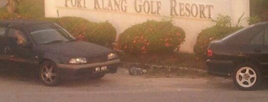 Port Klang Golf Resort is one of Favorite Great Outdoors.