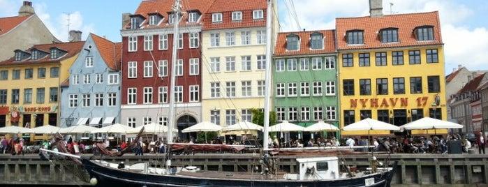 Nyhavn is one of Copenhagen.