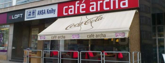 Café Archa is one of The best venue of Zlin #4sqCities.