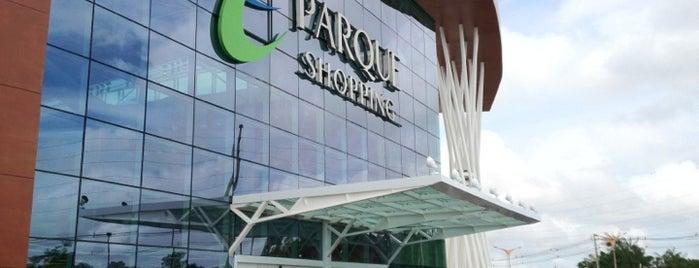 Parque Shopping Belém is one of meus pontos de localização.