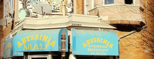 Abyssinia is one of Vegansaurus Philly!.