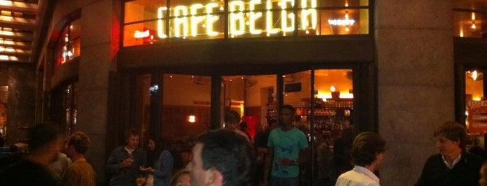 Café Belga is one of Welcome to Beergium !.