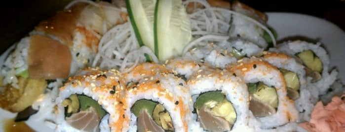 Sushi Blues Cafe is one of Must-Visit Sushi Restaurants in RDU.