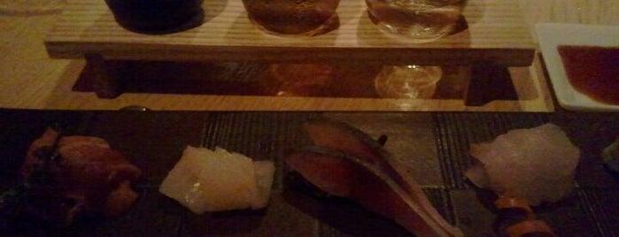 Sushi Azabu is one of The Platt 101: NYC's Best Restaurants.