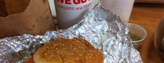 Five Guys is one of Eat, drink & be merry.