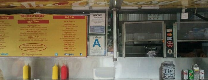 The Greasy Wiener Truck is one of Best LA Food Trucks.