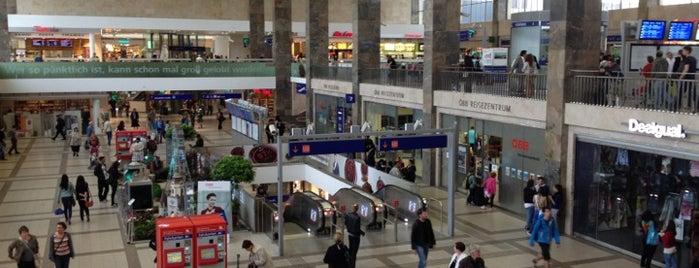 Wien Westbahnhof is one of StorefrontSticker #4sqCities: Vienna.