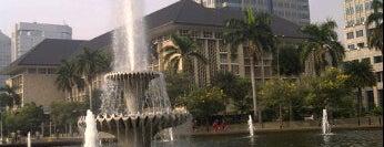 Bundaran Bank Indonesia (Bundaran Patung Kuda) is one of Jakarta. Indonesia.