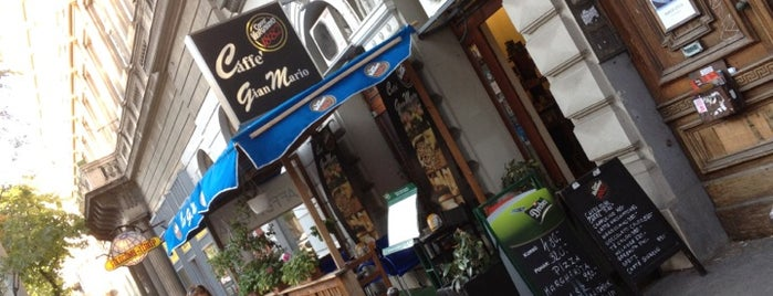 Caffe GianMario is one of Lunch in central Budapest.