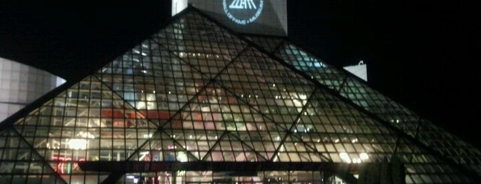 Rock & Roll Hall of Fame is one of Out and About in Cleveland.