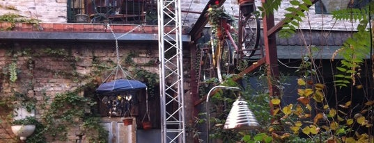 Szimpla Kert is one of 100 great bars - Lonely Planet 2011.