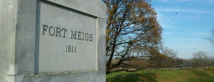 Fort Meigs State Memorial Park is one of Places in the mighty #toledo area. #ttown #visitUS.