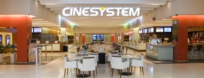 Cinesystem is one of UFSC e etc..