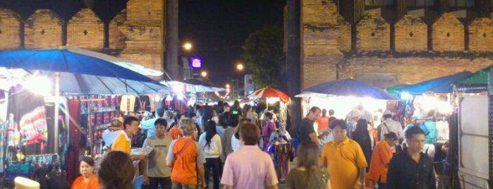 Chiangmai Walking Street is one of Greater Chiang Mai.