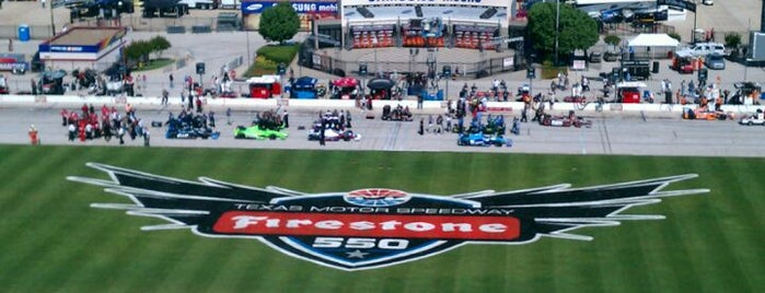 Texas Motor Speedway is one of Events To Visit....