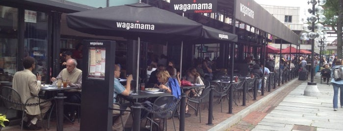 wagamama is one of Favorite Places.