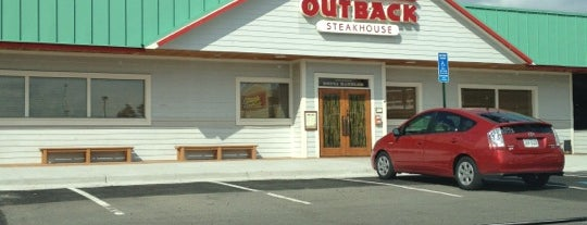 Outback Steakhouse is one of Food.