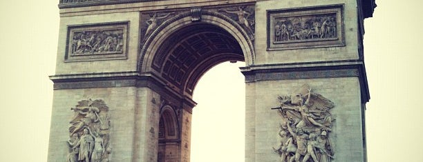 Arc de Triomphe is one of Europe 2013.
