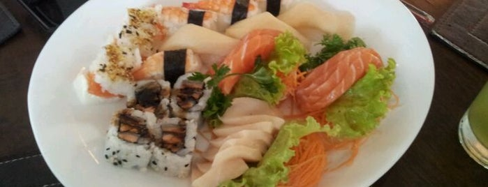 Giappa Sushi Pizza Bar is one of Distrito Federal - Comer, Beber.
