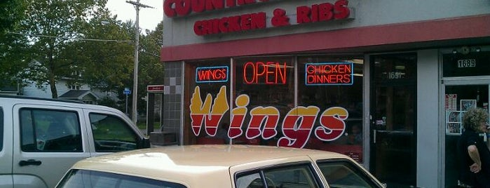 Country Sweet Chicken & Ribs is one of Rochester's Take on the Chicken Wing.