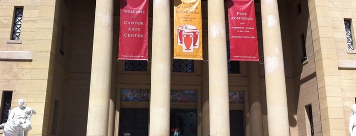 Iris & B. Gerald Cantor Center for Visual Arts is one of Best Outdoor Eating / Drink Spots.