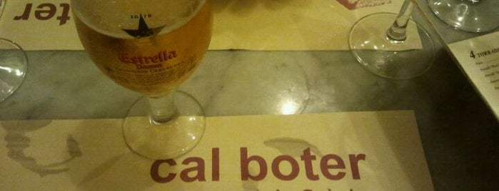 Cal Boter is one of Tapeo en Barcelona.