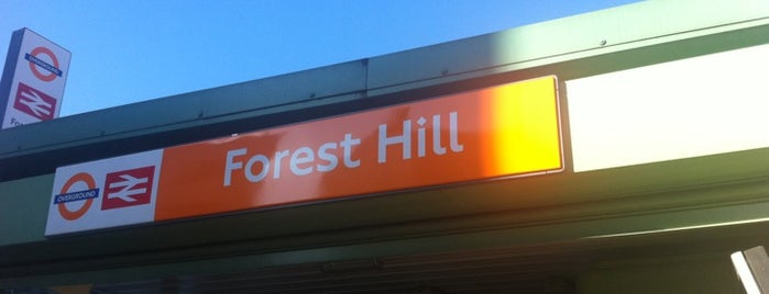 Forest Hill Railway Station (FOH) is one of Railway Stations in UK.