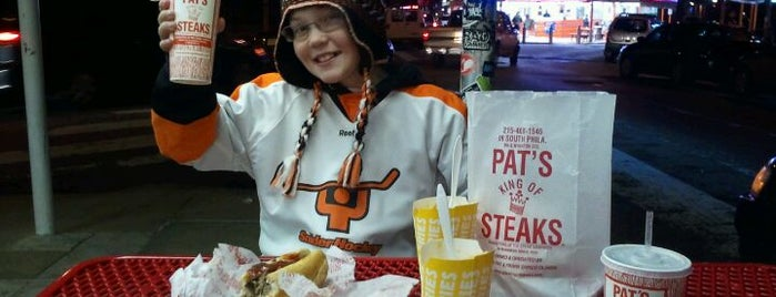 Pat's King of Steaks is one of Philadelphia's Best Sandwich Places - 2012.