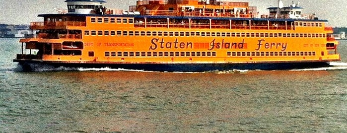 Staten Island Ferry Boat - Andrew J. Barberi is one of My favorite places :).