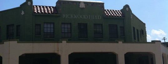 Rickwood Field is one of Birmingham's Most Visited.