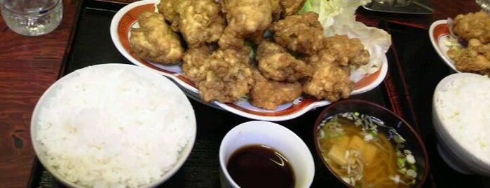 定食 佐々久 is one of テラめし倶楽部 その1.