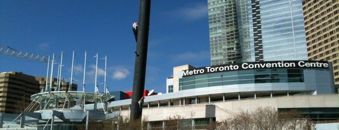 Metro Toronto Convention Centre is one of Places I Work or Have Worked/Been Fired From.